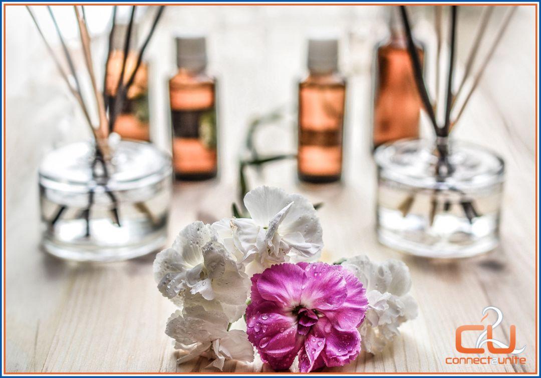 Aromamassage is helend en ontspannend bij Eszensa Wellness ism Connect2unite