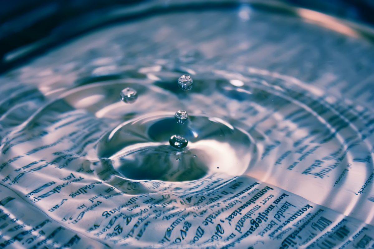 Het effect van een keuze is the ripple of life.