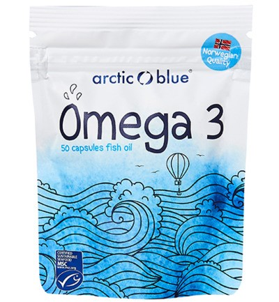 Arctic Blue - omega 3 visolie