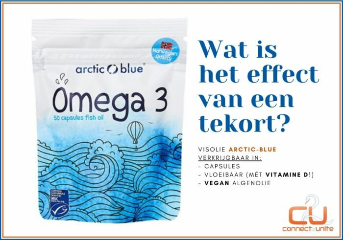 Arctic Blue biedt omega-3 visolie supplement aan