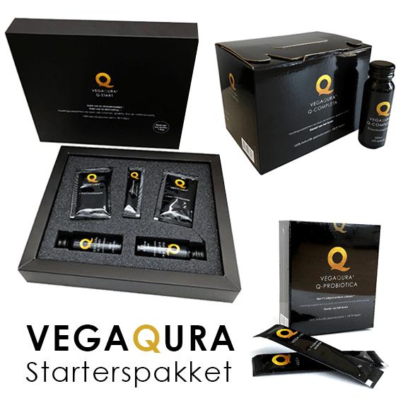 Vegaqura starterspakket voor complete verzorging darmreiniging